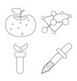 and logo set of and s vector image vector image
