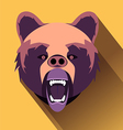 angry bear vector image vector image