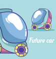 future cars vehicle vector image