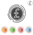 Pound Sterling vector image