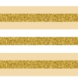 Trendy gold strip seamless pattern vector image