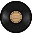 gramophone vinyl lp record old technology vector image