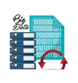big data related icons image vector image vector image