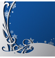 Christmas and New-Years greeting card vector image vector image