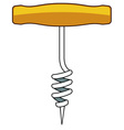 Corkscrew vector image