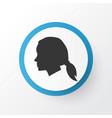 female icon symbol premium quality isolated vector image vector image