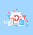 pharmacy and traditional medicine concept vector image vector image
