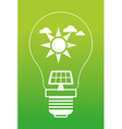Save Energy design vector image vector image