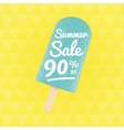 Summer Sale 70 per cent off vector image vector image
