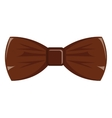 hipster bow tie graphic vector image