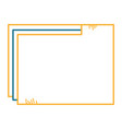 file folder documents icon vector image vector image