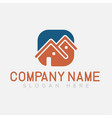 house logo home building logo and symbol vector image vector image
