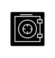 safe - security - protection - bank icon vector image vector image