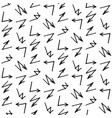 seamless with arrows vector image