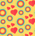 Vintage Seamless Romantic Pattern vector image vector image
