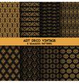 Art Deco Vintage Patterns - 8 Seamless Backgrounds