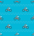 bicycle seamless pattern for use as wrapping vector image