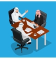 Business meeting concept International Business vector image vector image