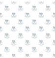 dirigible pattern seamless vector image
