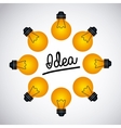 great idea design vector image