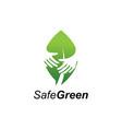 green care logo vector image vector image