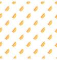 rowan leaf pattern seamless vector image vector image