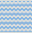 Tile pattern with pastel blue and grey zig zag vector image