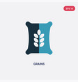two color grains icon from nature concept vector image