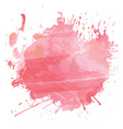 watercolour splatter 1612 vector image vector image