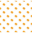 autumn chestnut leaf pattern seamless vector image vector image