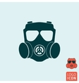 Gas mask icon isolated vector image vector image