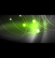 glowing shiny neon colors with abstract lines vector image vector image