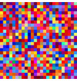 seamless colorful pixel pattern vector image vector image