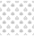Wallpaper in baroque style vector image vector image