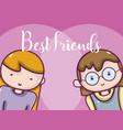 womens best friends vector image