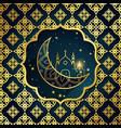 abstract ramadan islamic background vector image