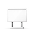Blank Outdoor Billboard with Place for Message vector image vector image