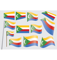 flag of Union of the Comoros vector image vector image