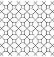 rounded rhombus pattern vector image vector image