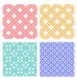 seamless geometric line pattern in korean style
