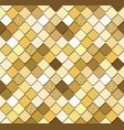 sequins mosaic trendy seamless background with vector image vector image