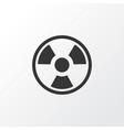 bio hazard icon symbol premium quality isolated vector image