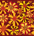 abstract floral seamless pattern summer flower vector image vector image