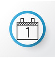calendar month icon symbol premium quality vector image vector image