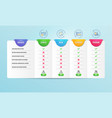 change card seo statistics and search icons set vector image vector image