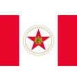 flag of birmingham alabama usa vector image