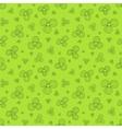 Green flowers vector image