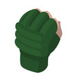 mma glove sports accessory fighters warrior gloves vector image vector image