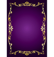 purple luxury background vector image vector image