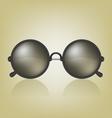 Retro sunglasses vector image vector image